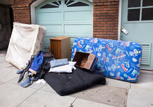 Squatters move in with furniture and often must be evicted just like a legal tenant who hasn't paid rent.