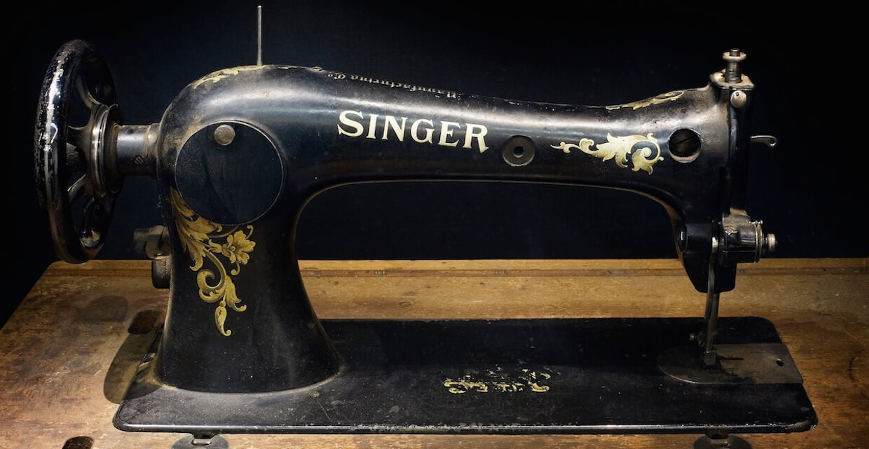 Old Singer sewing machine value