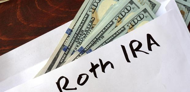 Enveloped money set aside for contribution to a Roth IRA