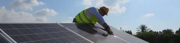 Solar panel home installation