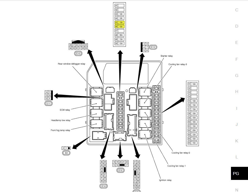 2009 nissan rogue fuse box diagram wiring diagram fascinating 2010 nissan rogue fuse diagram nissan rogue fuse diagram #8