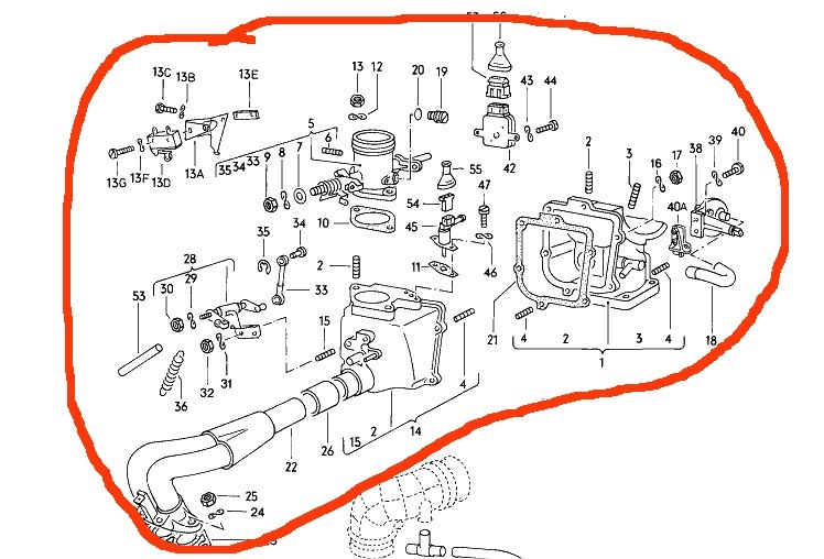 2010 06 26_231123_BugInjIntake how to i convert a 1978 beetle from fuel injection to carb Fuel Gauge Wiring Diagram at bayanpartner.co
