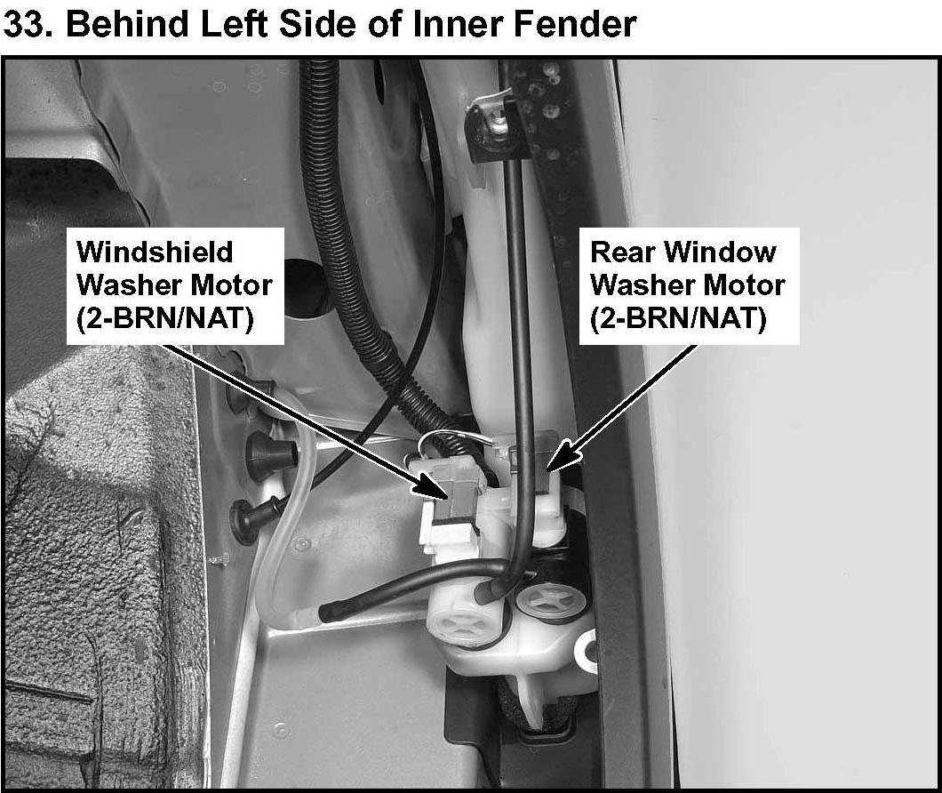 Honda Accord: Windshield Wipers andWashers