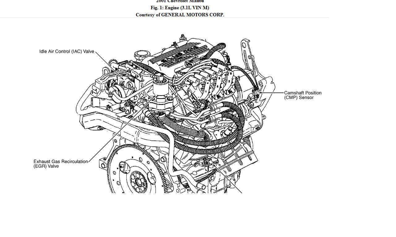 Where Does The Camshaft Position Sensor Connect To On A