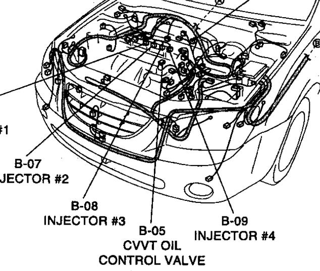 2005 kia spectra has code p0011 we have replace the belt tensor