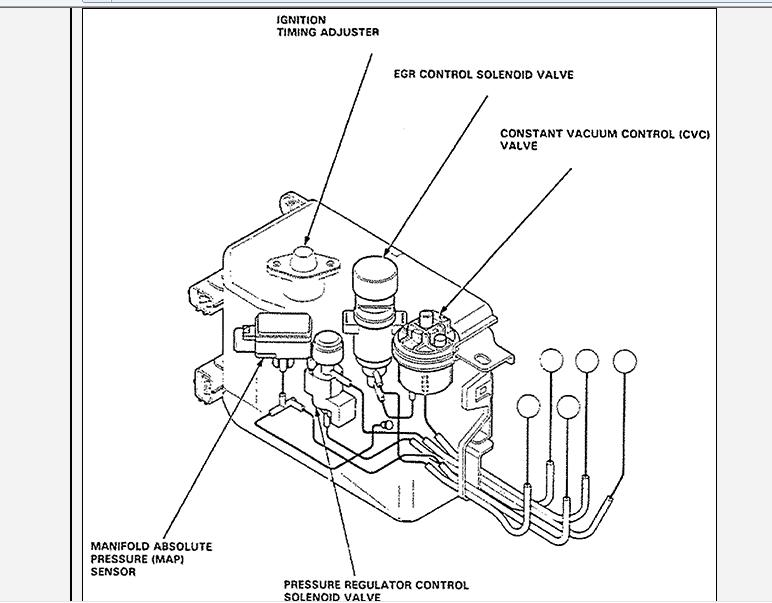 Where Is The Mass Air Flow Sensor Located On My 1992 Acura