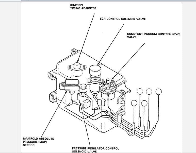 mdx acura schematic maf