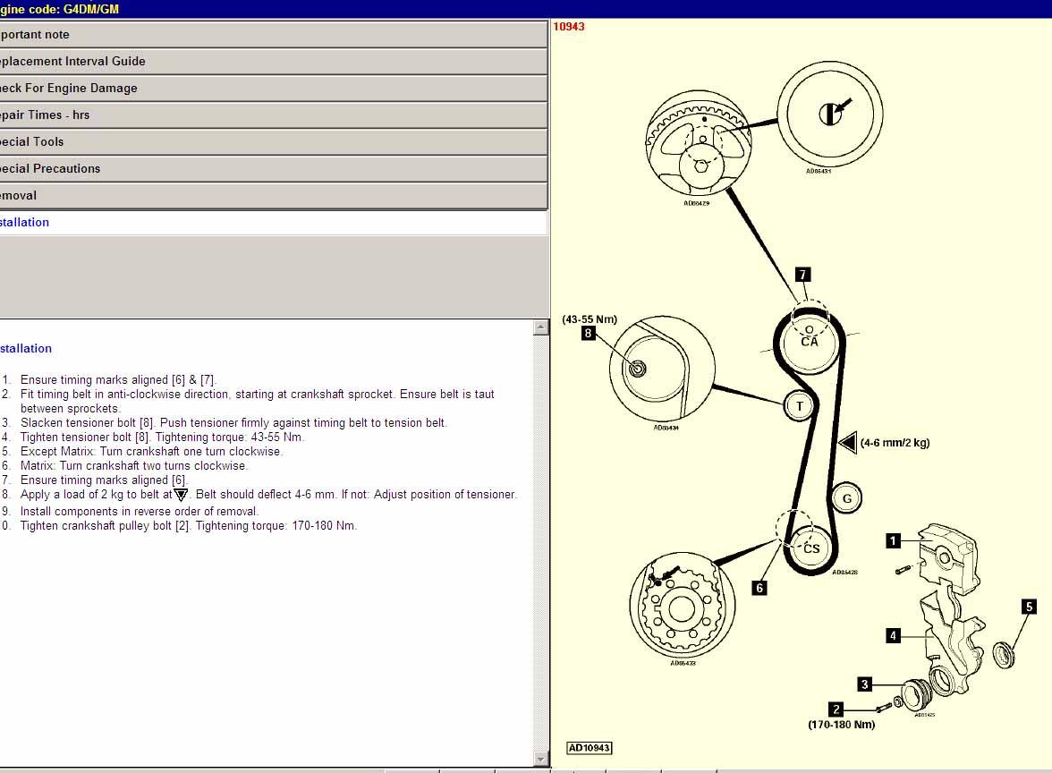 2004 Hyundai Elantra Timing Belt Autos Post