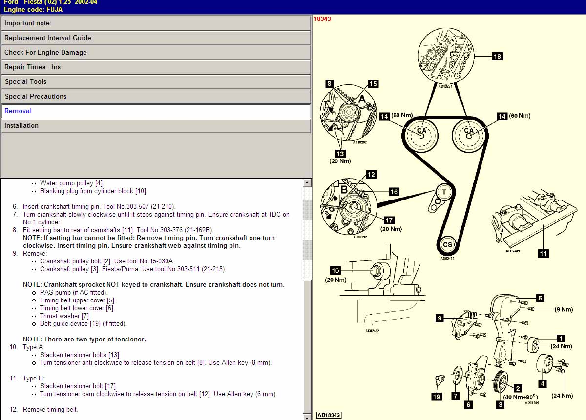 zetec engine diagram timing gears marks 2002 zetec engine diagram ford fiesta 1.25 zetec s, 2002 last of the 4's, just changed timing belt on friday, mileage 90k ...