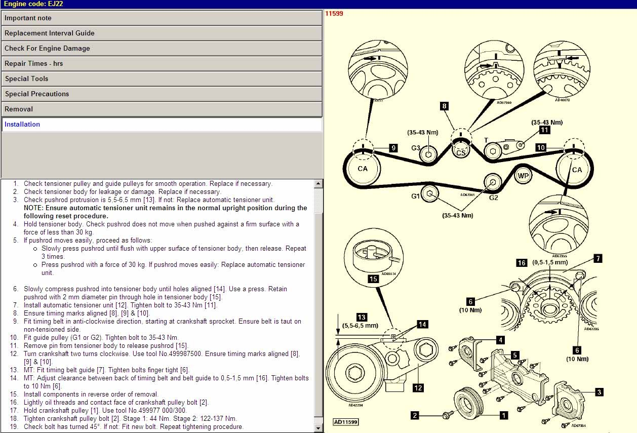 Subaru Outback Sport Engine Diagram Wiring Library Timing Marks What Should I Use To Set The On My 99 Impreza Graphic