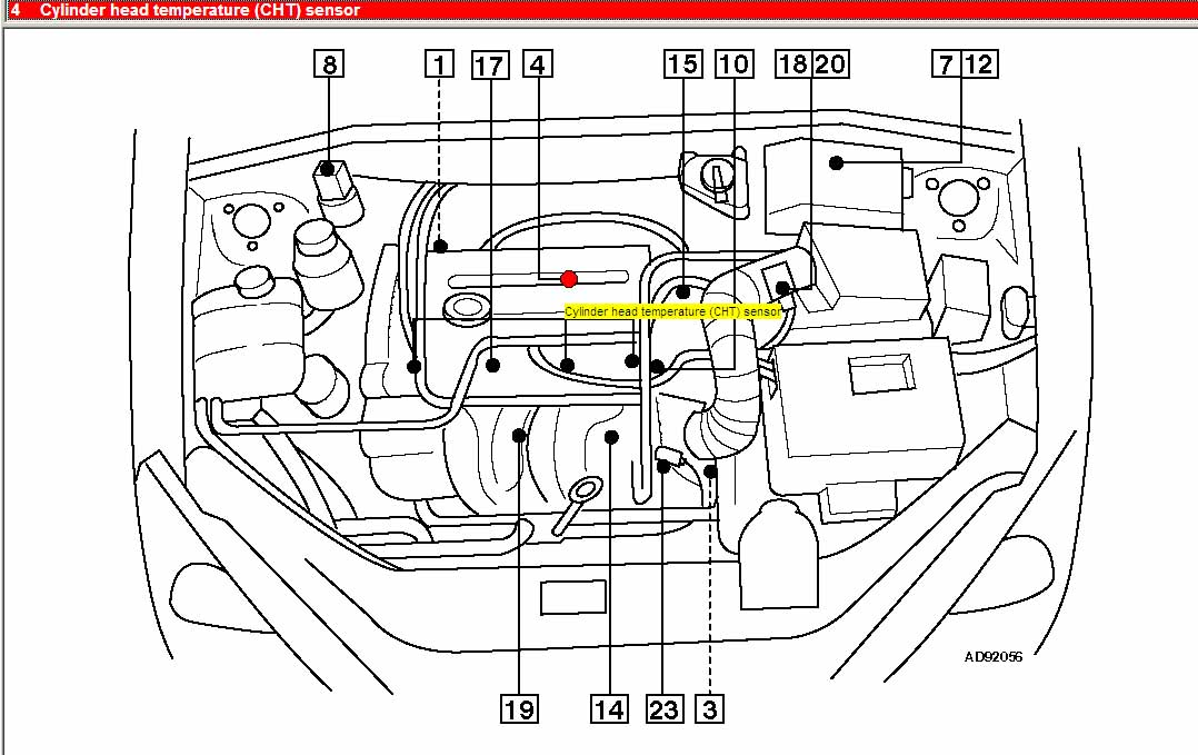 ford engine coolant temp sensor
