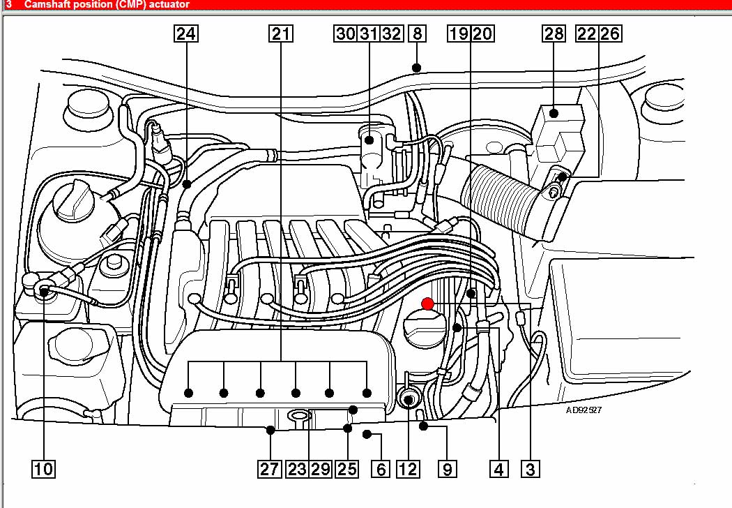 1999 Passat Engine Diagram