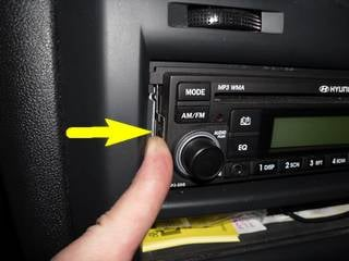 Hyundai Getz Wiring Diagram : I want to remove the radio in my hyundai getz how do i remove it?