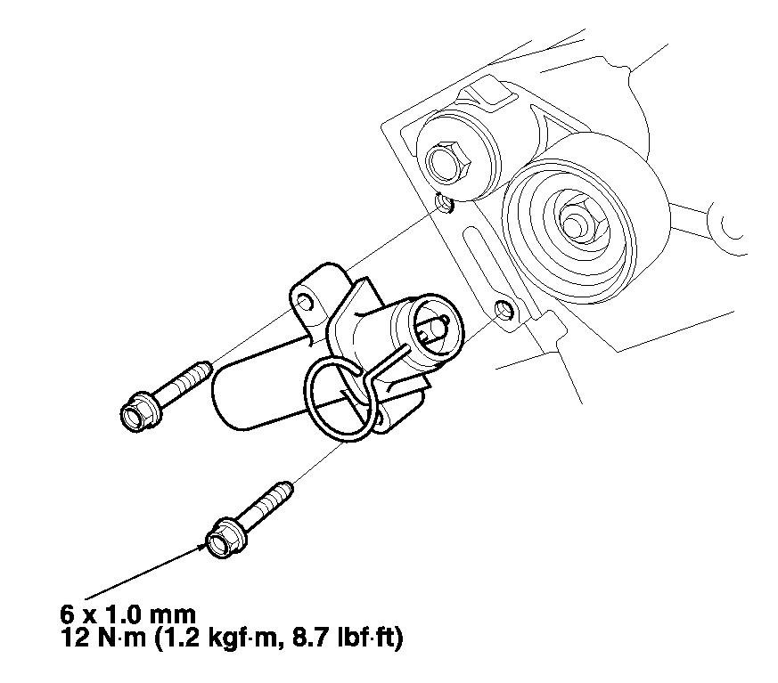 what are the torque values for idler pulley  water pump  and timing belt tensioner pulley