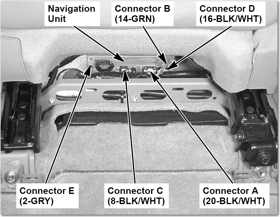 mdx 2004 acura mdx navigation screens states no signal all