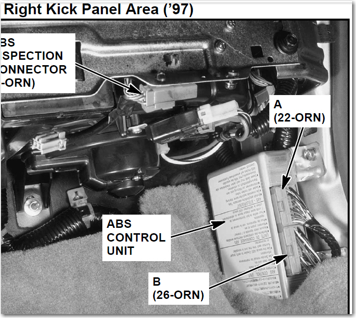 How Can I Disable My ABS Light On My 1997 Acura CL 3.0