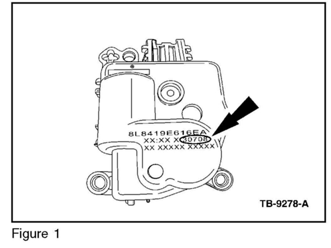 HVAC Temperature Blend Door Actuator for Escape Hybrid F150 Mariner Hybrid