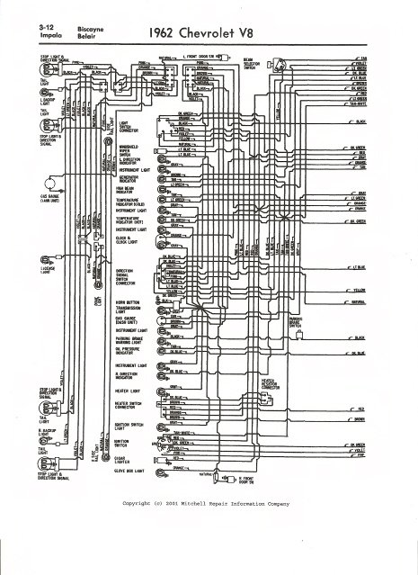 1962 c10 wiring diagram pdf i need a complete wiring diagram for a 1962 chevy impala with a  1962 chevy impala