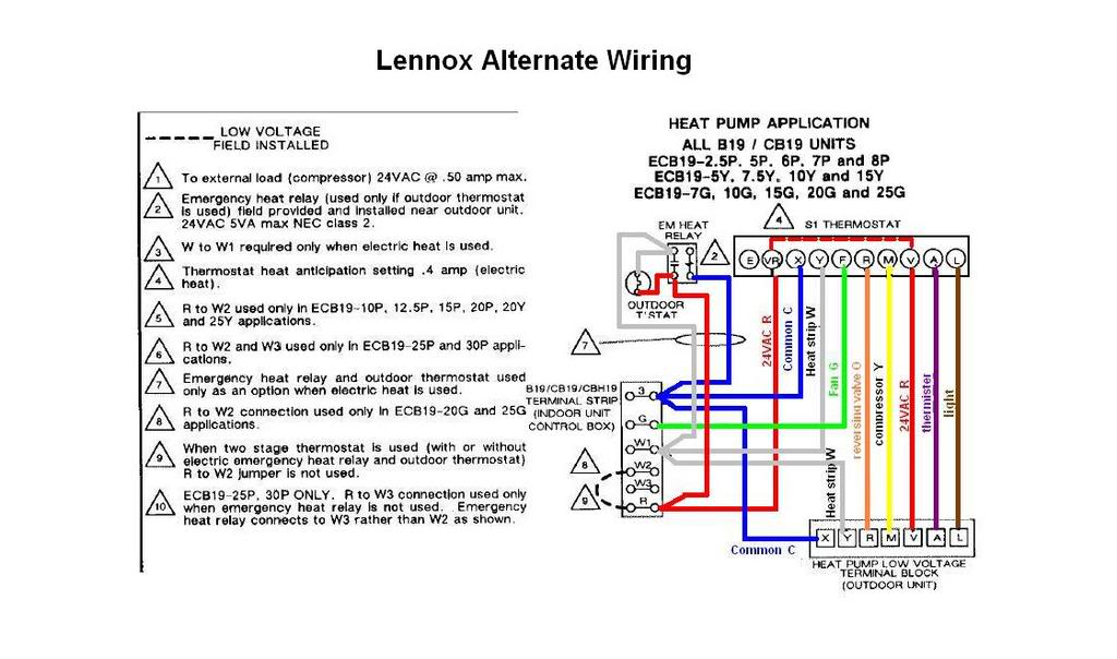 I need help wiring a lennox 65f9801 to a honeywell rth2410b1019 the graphic asfbconference2016 Image collections