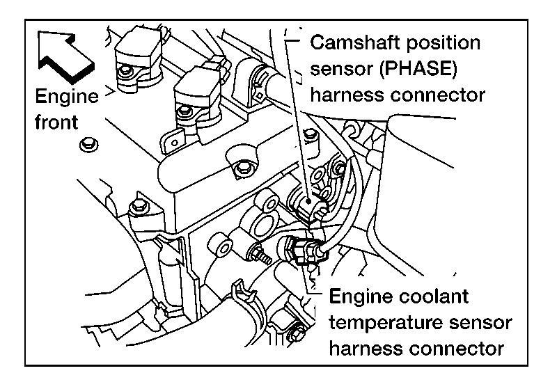 2008 toyota tundra crankshaft position sensor location