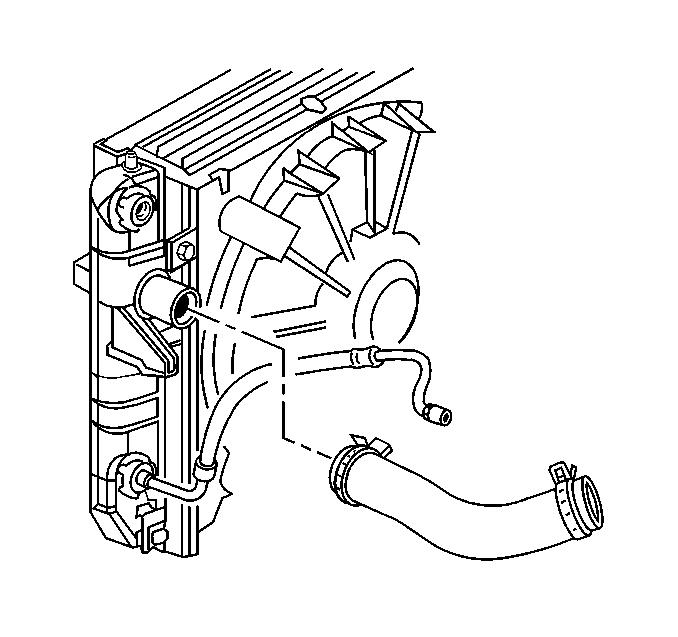 Need Schematics For Removing Radiator From Cadillac Deville Dhs