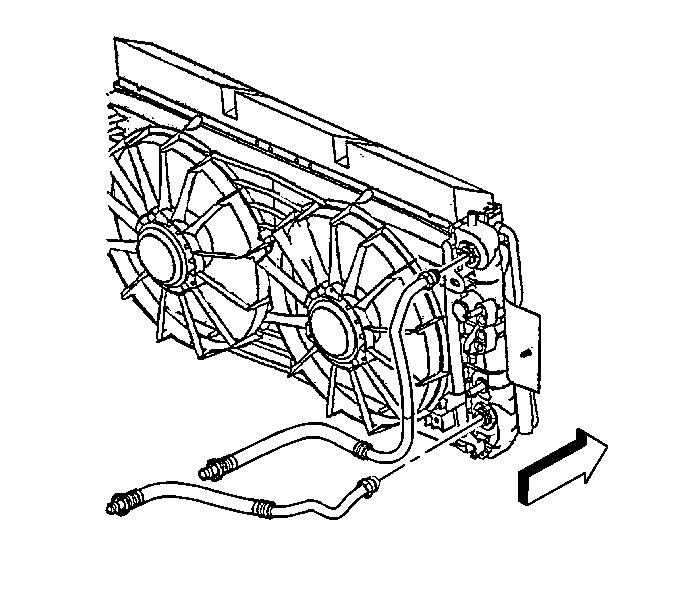 need schematics for removing radiator from cadillac