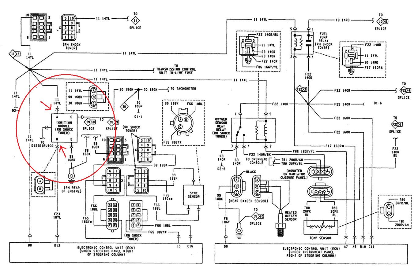 wiring diagram for 1994 jeep wrangler jeep cherokie lorado: my 1990 jeep cherokie lorado, no spark wiring diagram for 1990 jeep wrangler