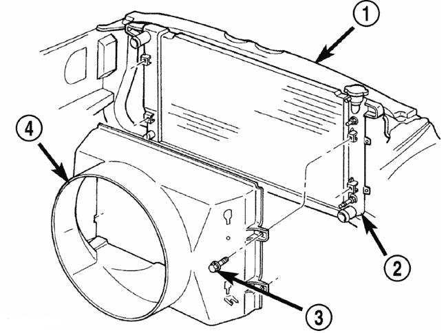 Dodge Ram Radiator Diagram