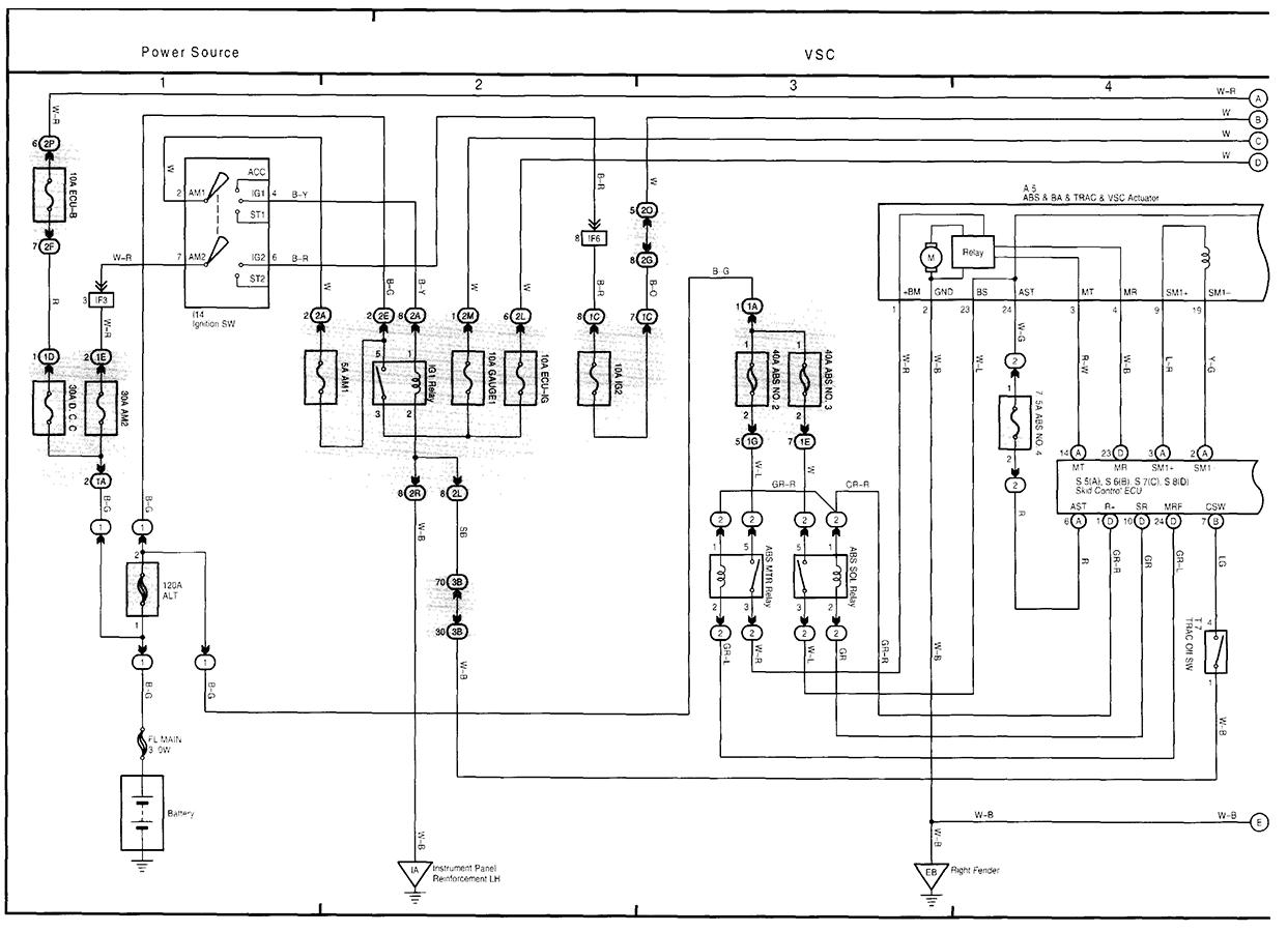 volkswagen start wiring diagram lexus start wiring diagram i have 2 lights on the track off and vsc i turn the key on ...