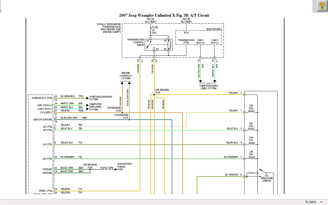 2007 Dodge Nitro Engine Diagram P0158 Electrical Wiring Diagrams Charger I Have Jeep Wrangler Powered By A Mv 2 8 Litre Turbo Diesel 2009