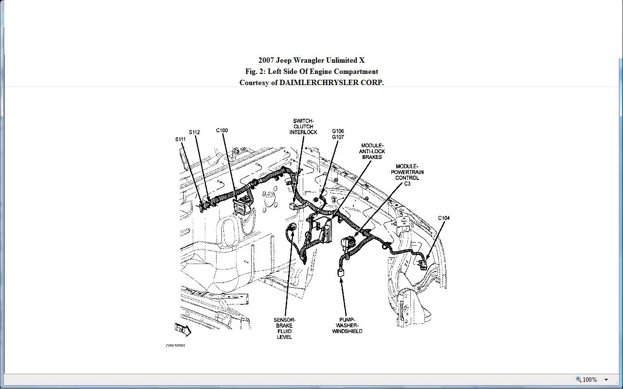 2007 Dodge Nitro Engine Diagram P0158 Electrical Wiring Diagrams 2009 I Have Jeep Wrangler Powered By A Mv 2 8 Litre Turbo Diesel Solinoid