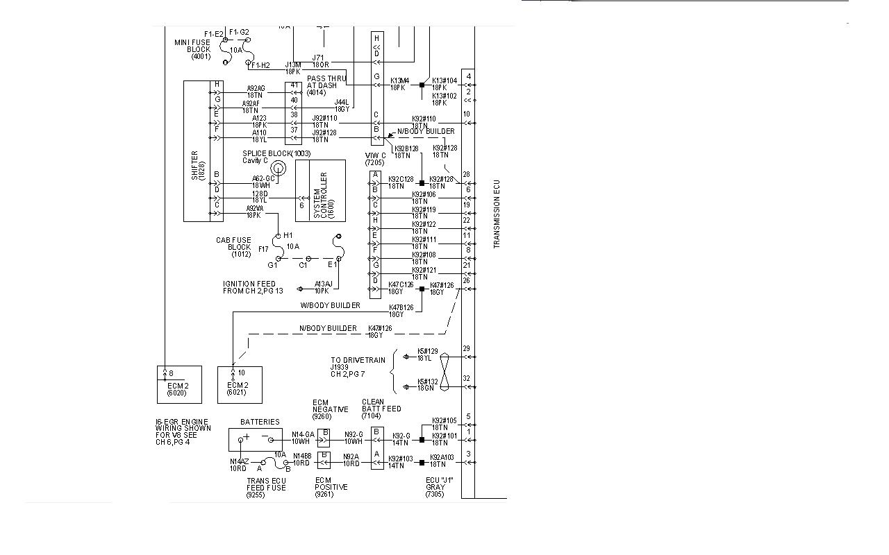 2006 International Dt466 Ecm Wiring Diagram  Diagrams
