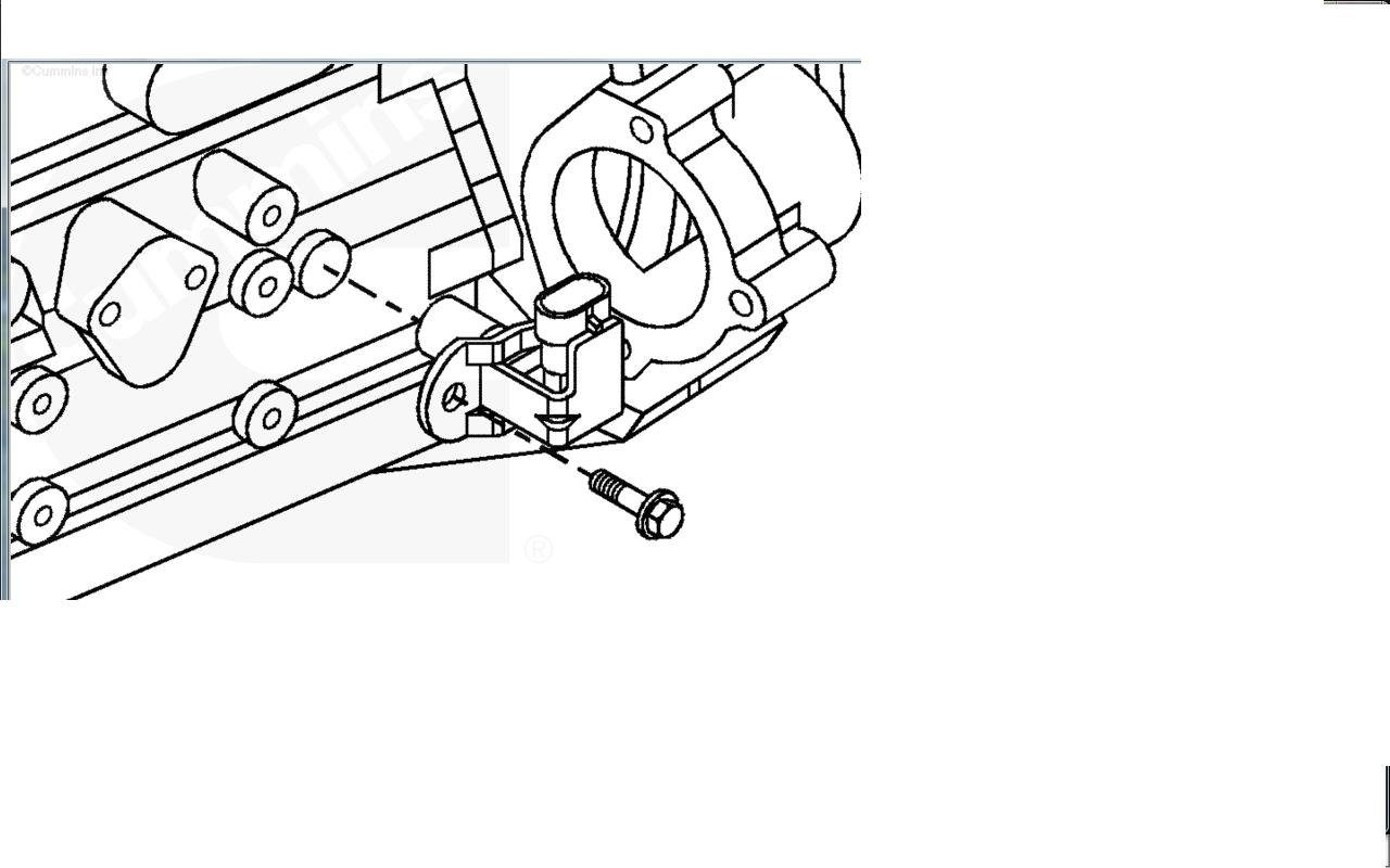 camshaft position sensor location 5 7  diagram  auto