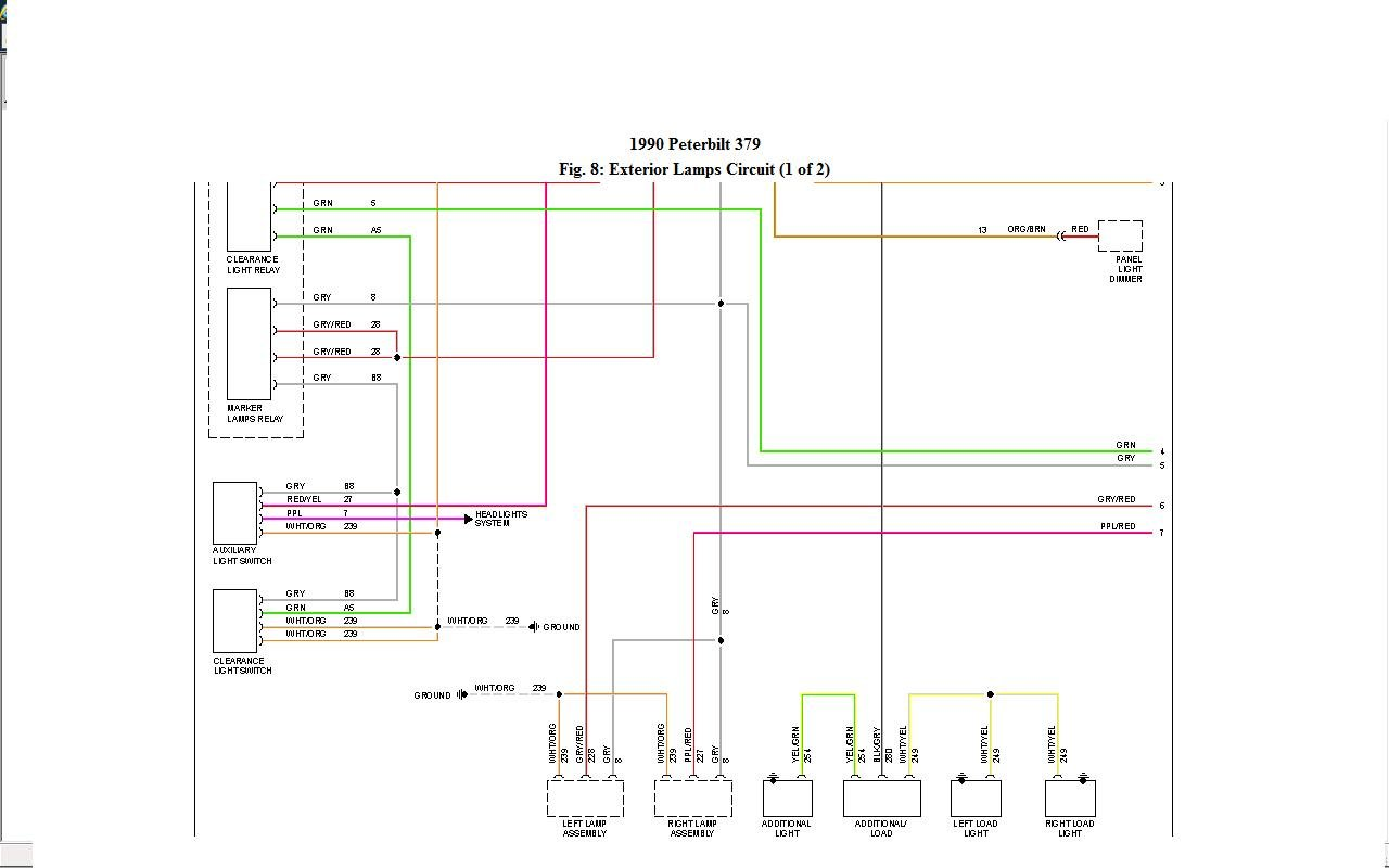 peterbilt wiring diagrams efcaviation