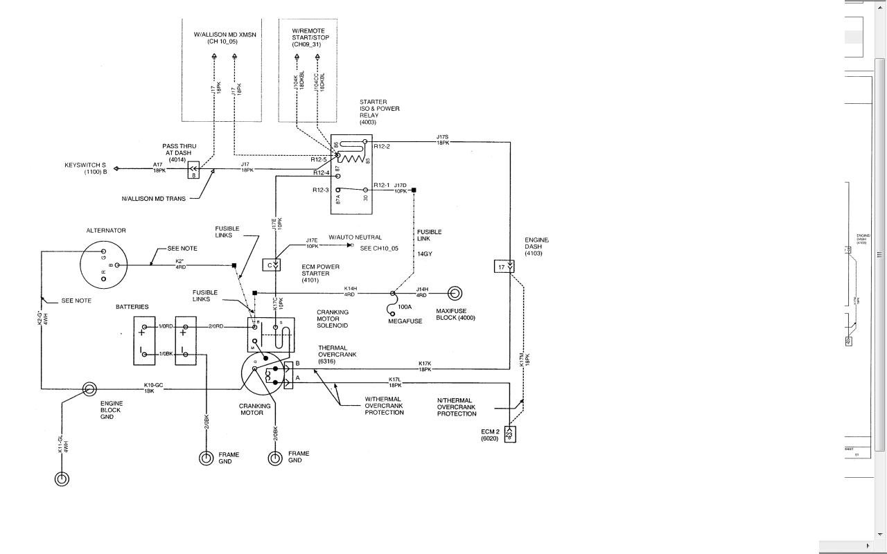 International 7300 Wiring Diagram
