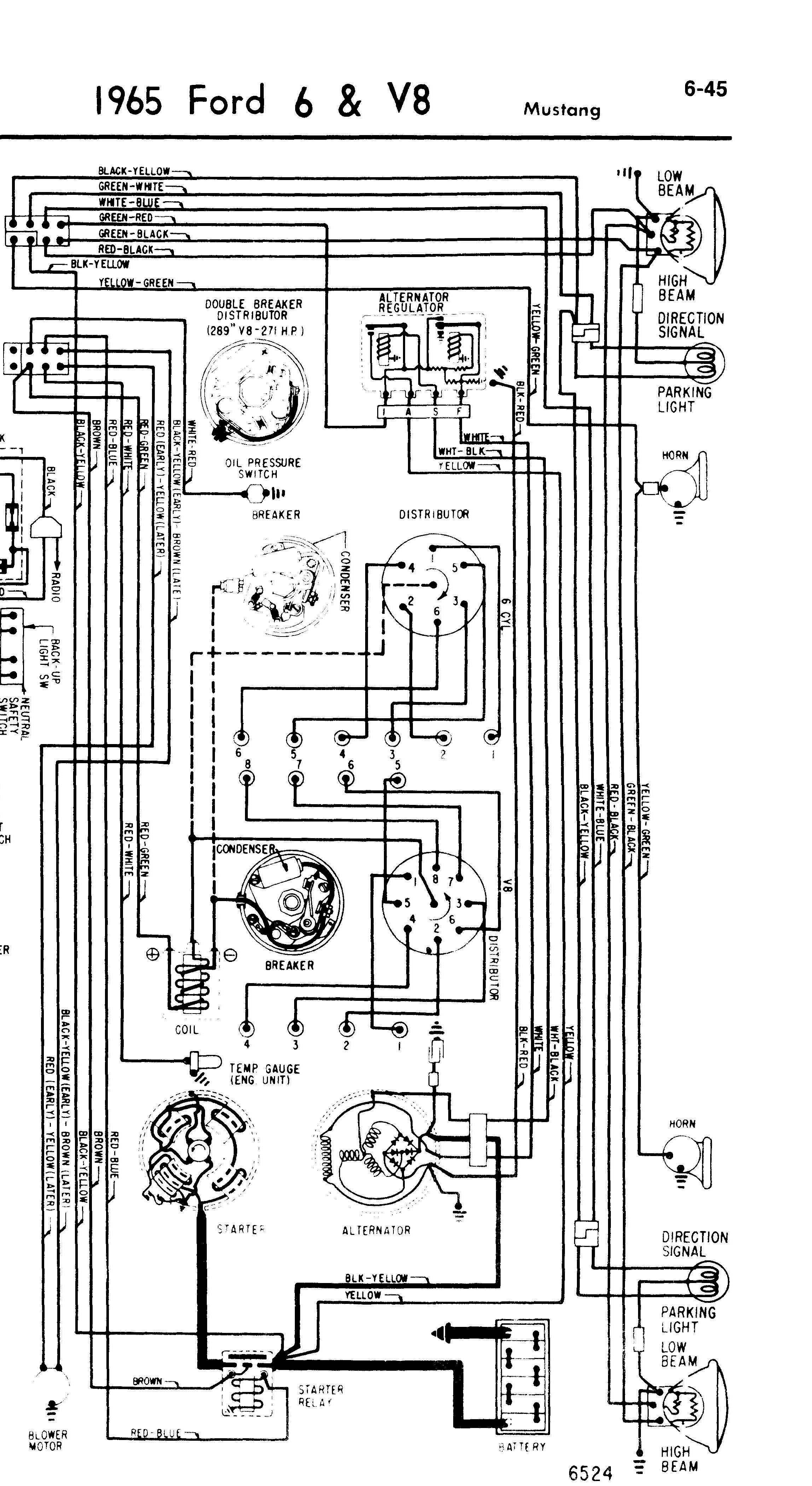 1965 Mustang Not Charging  Has New Battery New Alternator