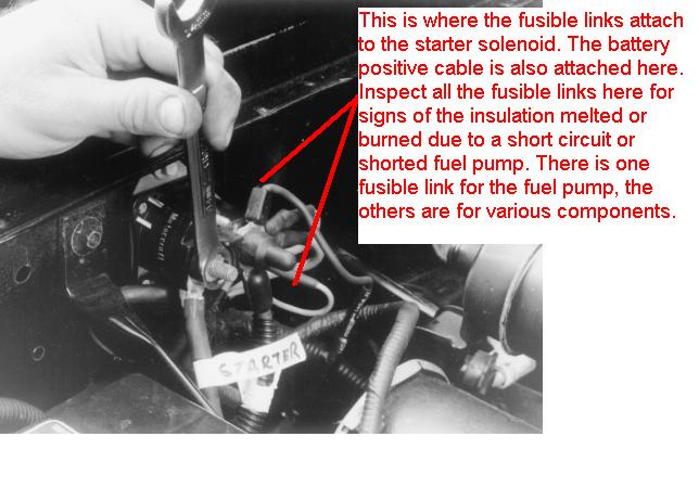 Automotive Fusible Link  I Have A 1988 Cougar With No