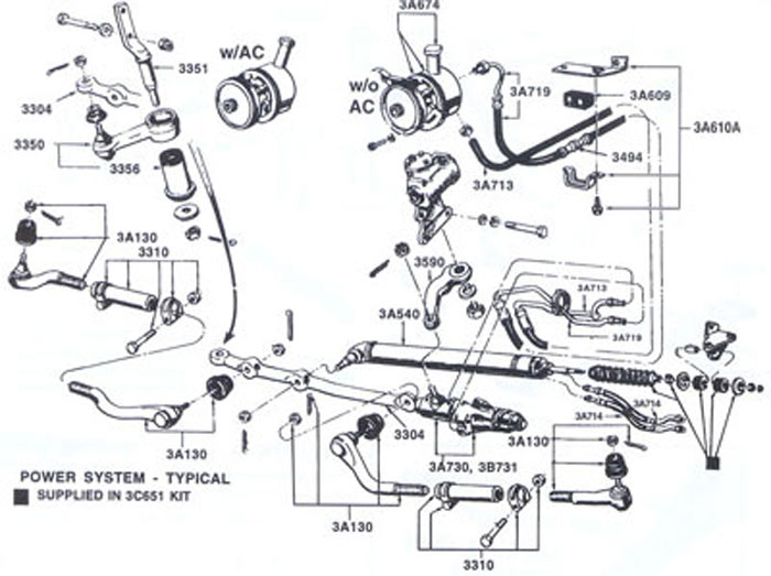 1965 ford falcon 289 ci 2bb 80 000 original miles rebuilt power steering control valve car pulls
