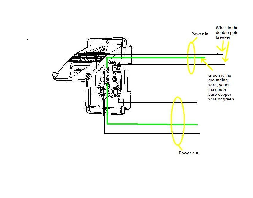 240v Fuse Box Wiring Diagram : Pole v fuse box wiring diagram images