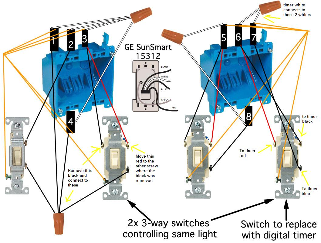 Awesome Connect 3 Way Switch Inspiration - Wiring Diagram Ideas ...