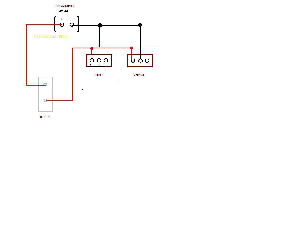 Can I Wire Two Friedland 8v Door Bell Systems To One Push Wiring A Doorbell With Transformer Graphic