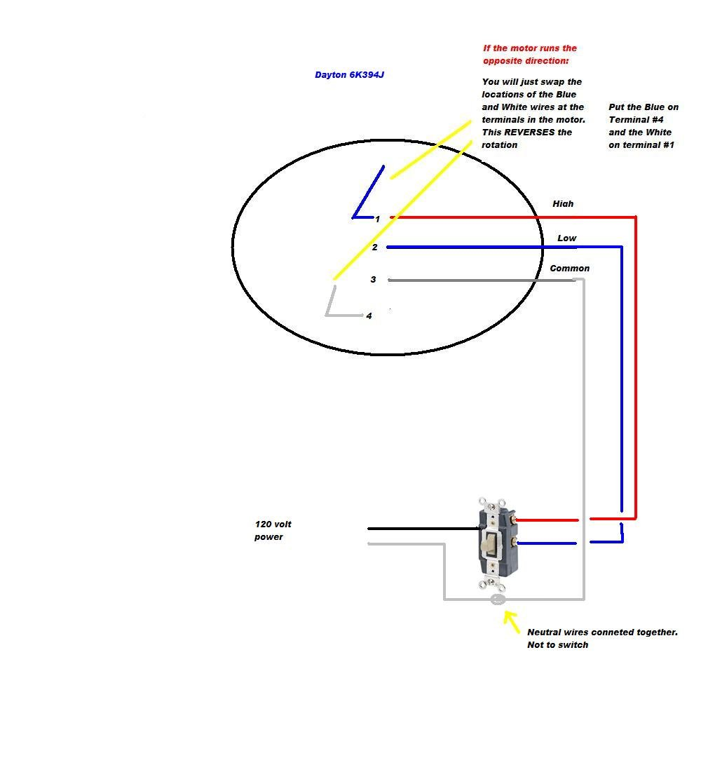 Dayton Hvac Motor 4m096 Wiring Diagram - All Diagram Schematics on