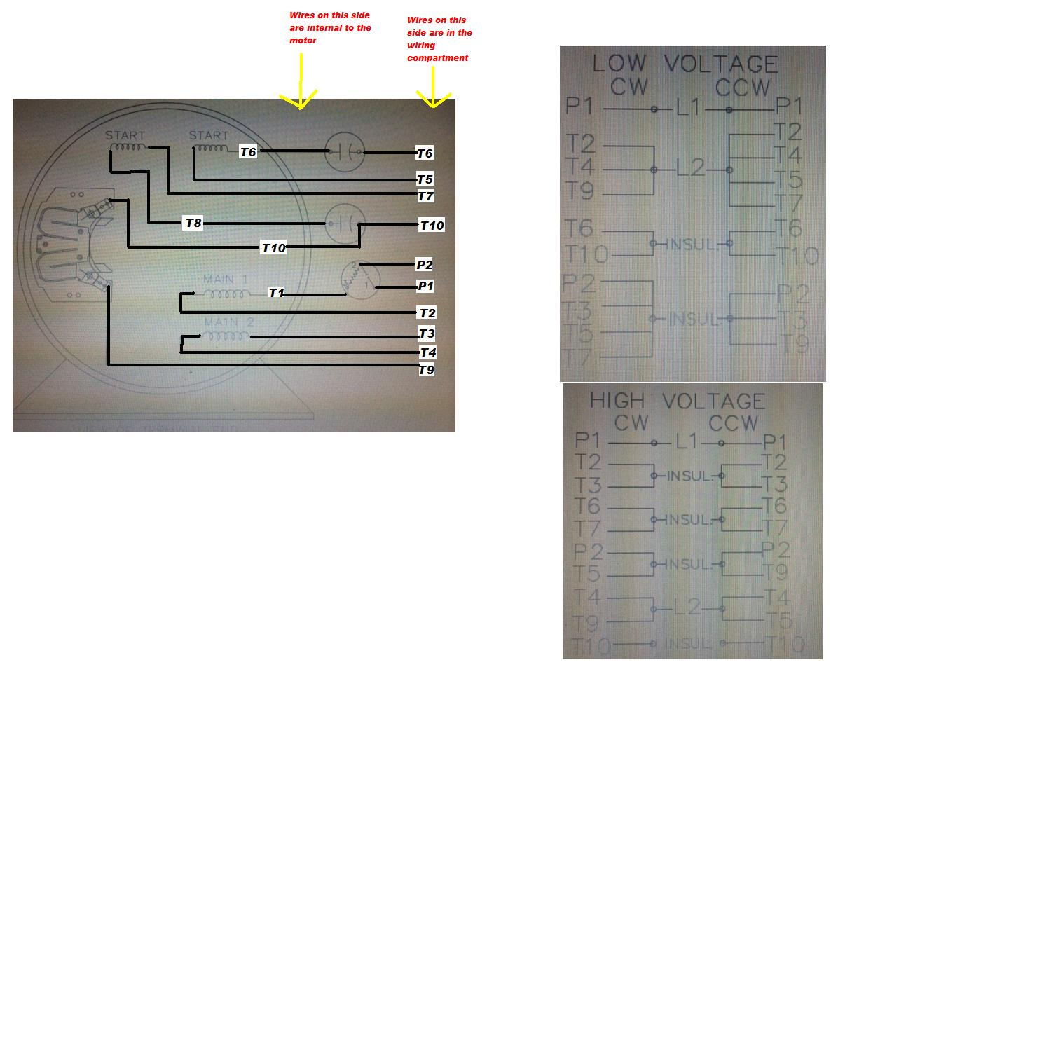 Electric Motor Wiring Color Code Dayton Cw Ccw Diagram Solidfonts