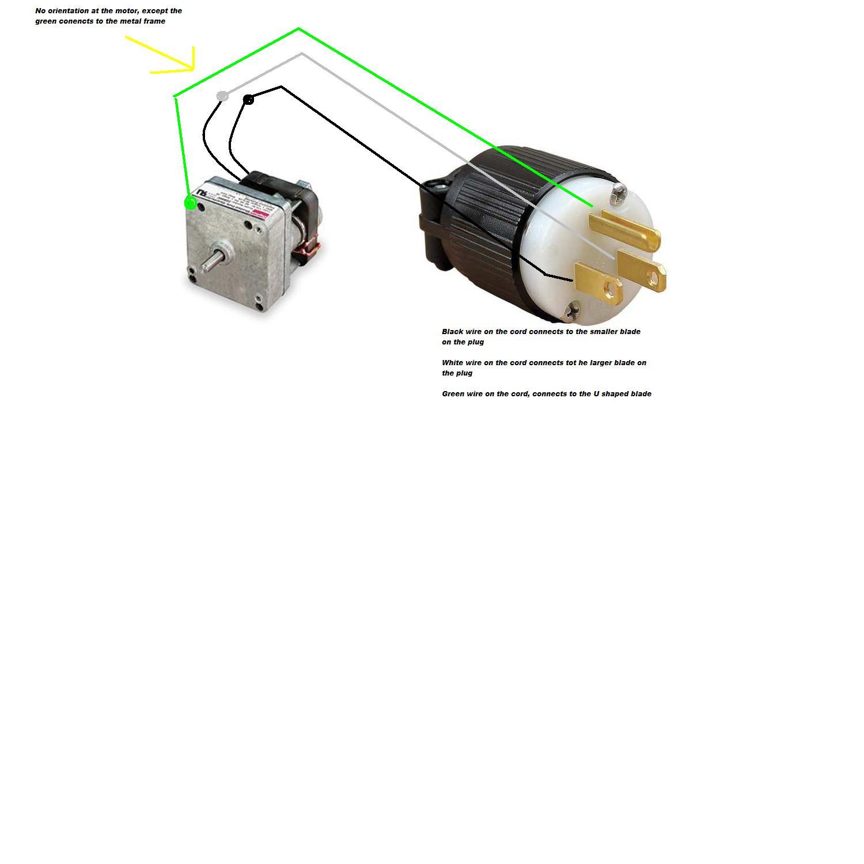 I have a Dayton AC Parallel Shaft Gear Motor 115V model 2Z807 that Dayton V Wiring Diagram on