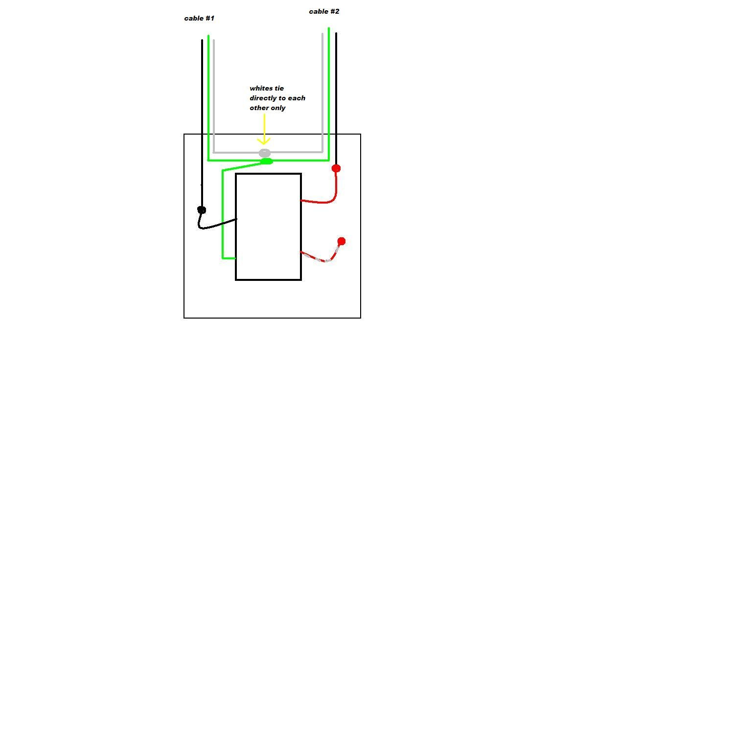 Replacing A Ceiling Fan Control That Had 2 Black Wires And Ground Light Wiring Diagram Lutron S2 Lfsq Graphic