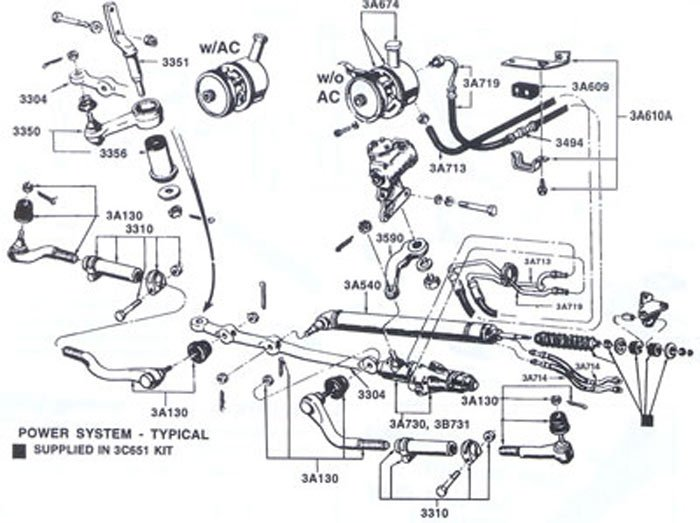 My Question Is About Routing Power Steering Lines In A Manual Guide