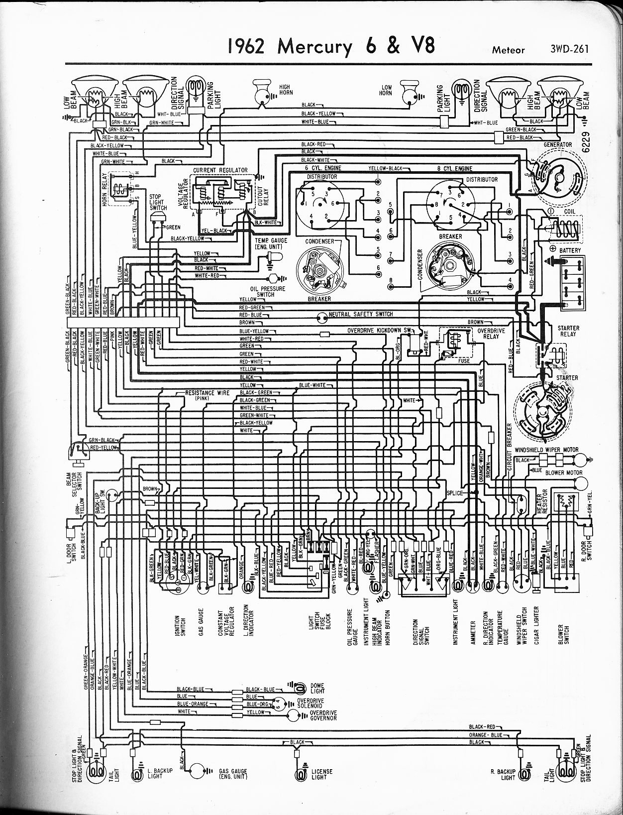 1963 Comet Wiring Diagram Diagrams Img Ford Galaxie 62 Schematic White