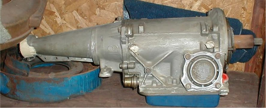 C Transmission on Ford Mustang Vacuum Line Diagram