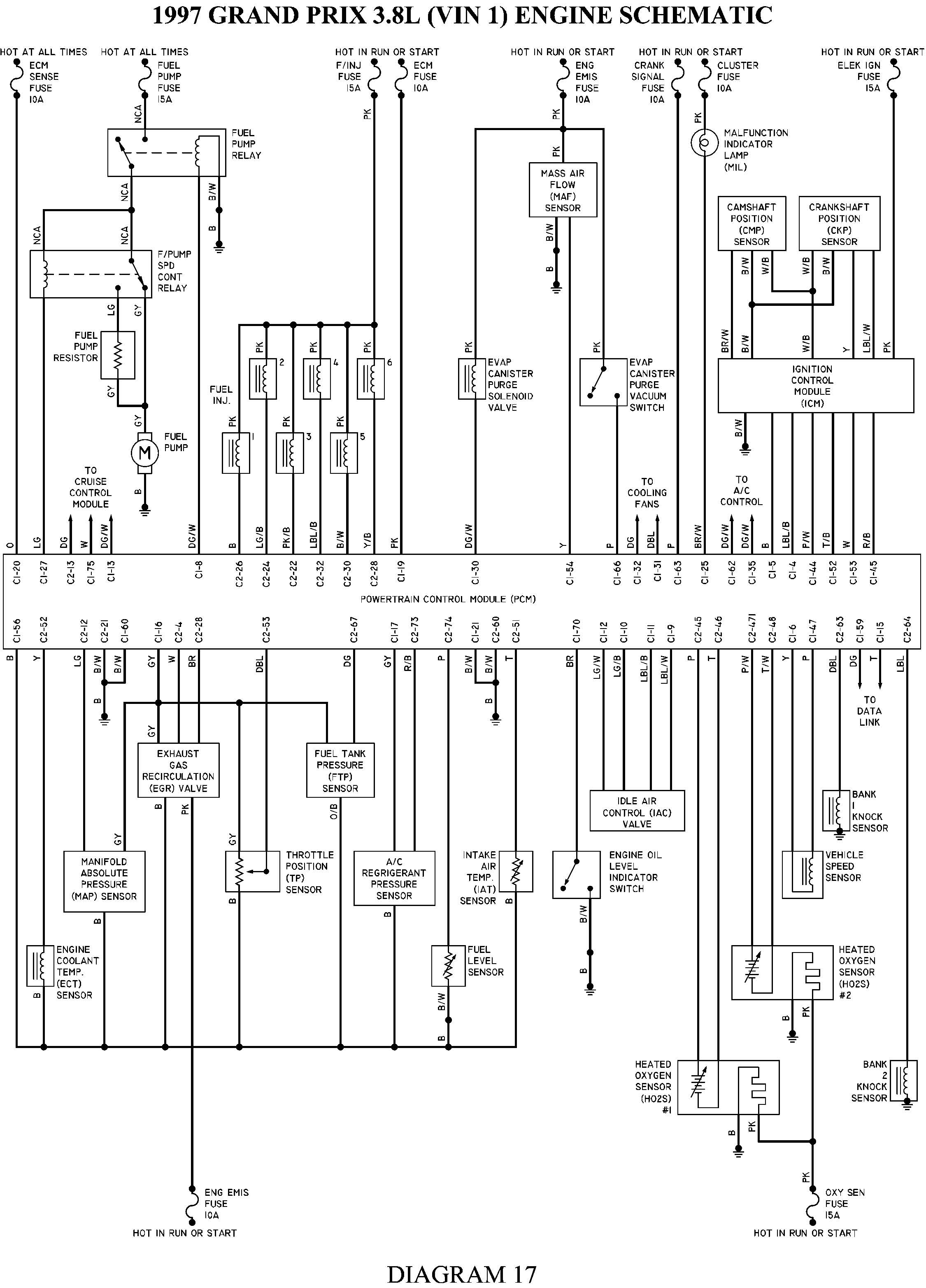 01 Grand Am Wiring Diagram Another Blog About For Pontiac Prix 2001 2002 Pcm Auto Stereo