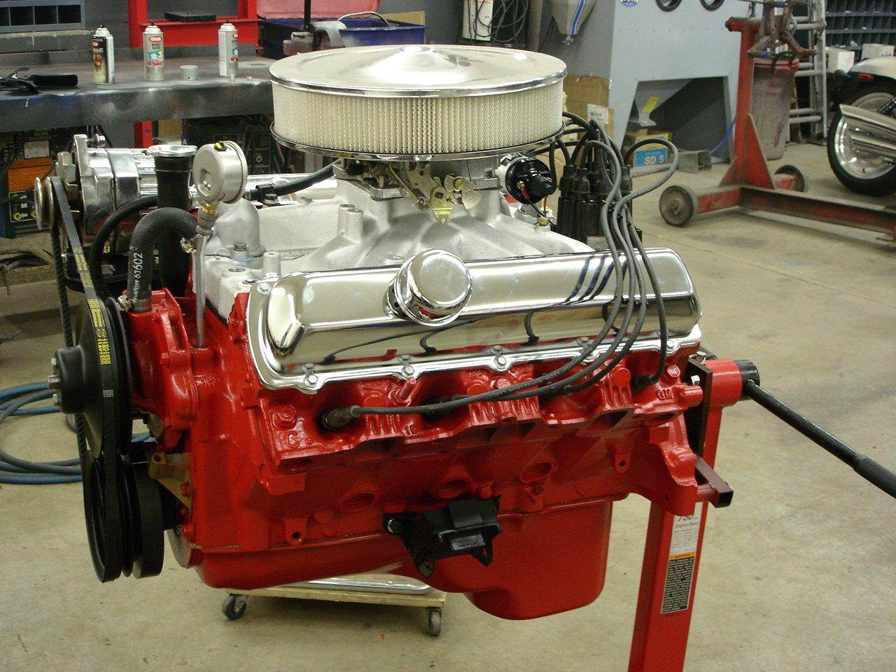 Rebuilt 455 Motor Completely Upper And Lower Car Back